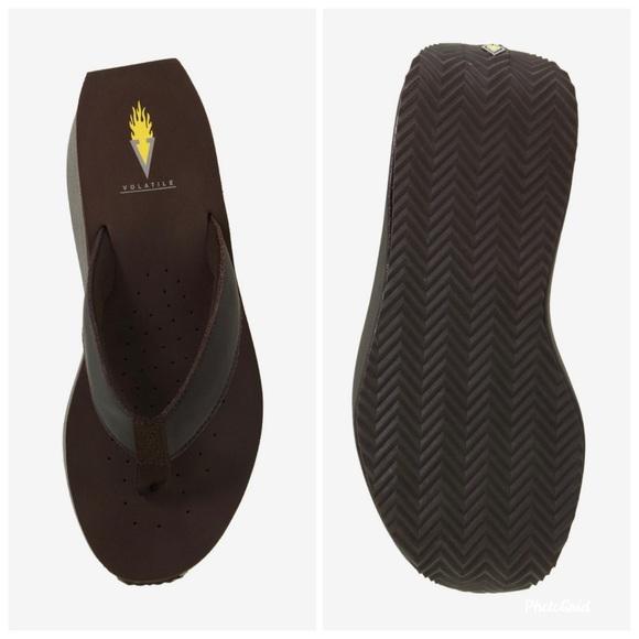 Volatile Frappacino Thong Flip Flop